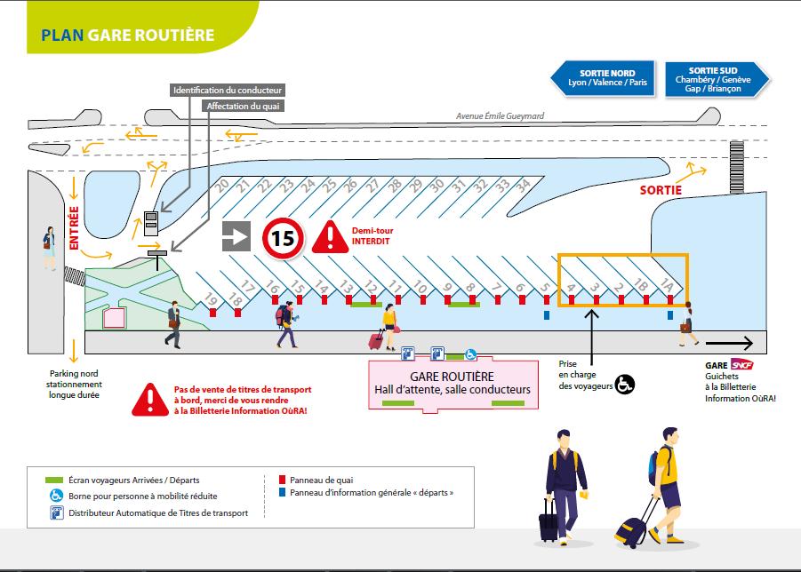Gare Routier Grenoble