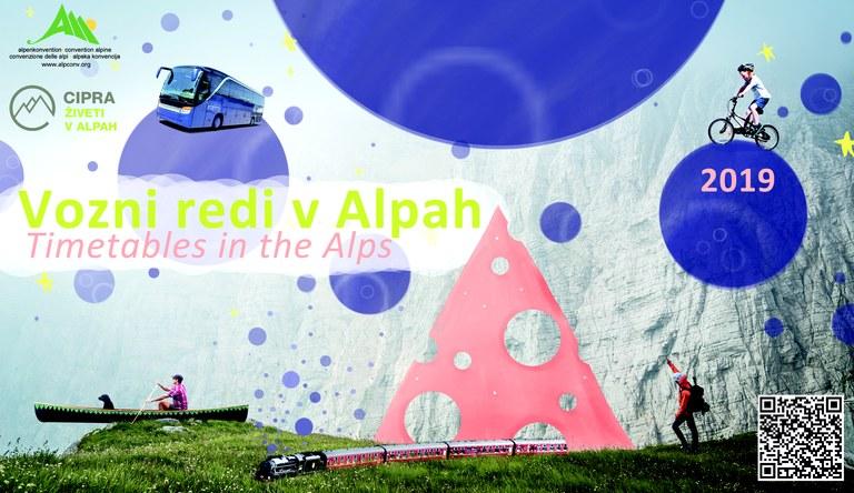Timetable slovenia Alpen