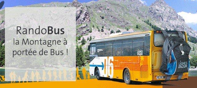 Wanderbus, Rando Bus Mercantour